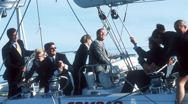 Sailing strategy challenge